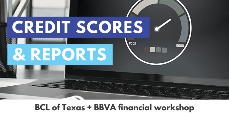 Credit Scores & Reports